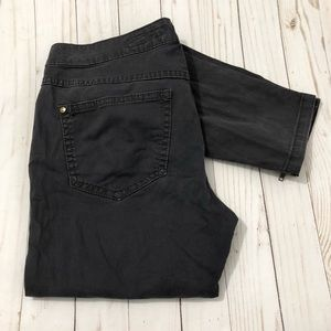 PILCRO AND THE LETTERPRESS Skinny Cargo Pants